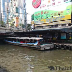センセープ運河の水上バスを利用しよう!