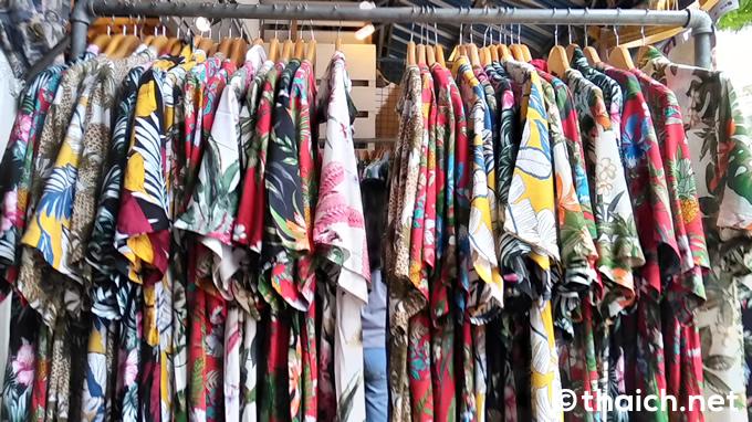タイでかっこいいアロハシャツは買えますか?