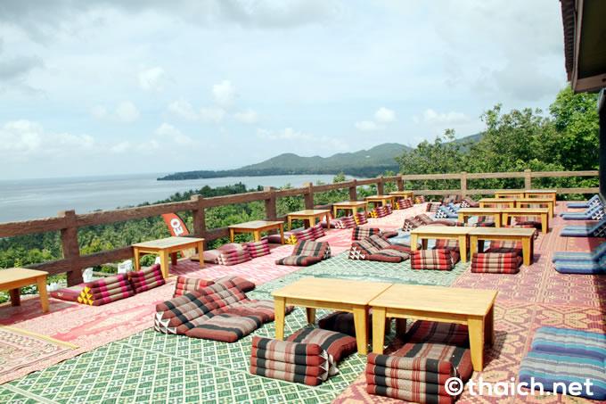 パンガン島の絶景スポット「Amstardam Bar」