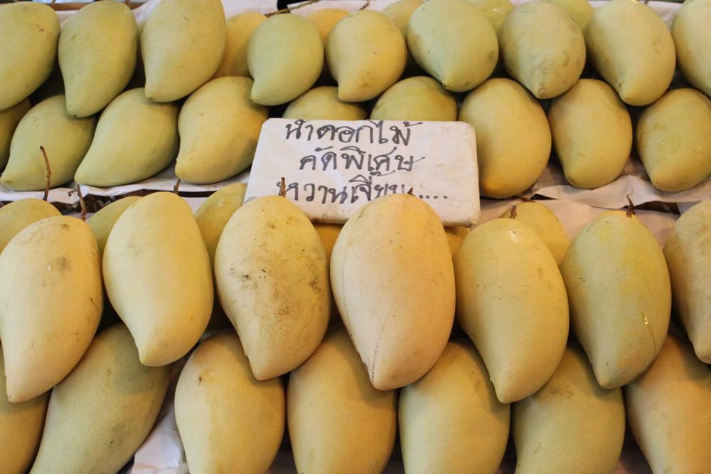 マンゴー(ナムドクマイ)-タイの果物