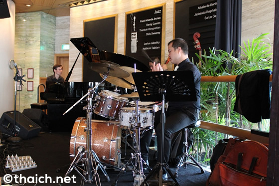 THE LIVING ROOM(シェラトン・グランデ・スクンビット内)-ジャズを聴きながら贅沢なブランチ