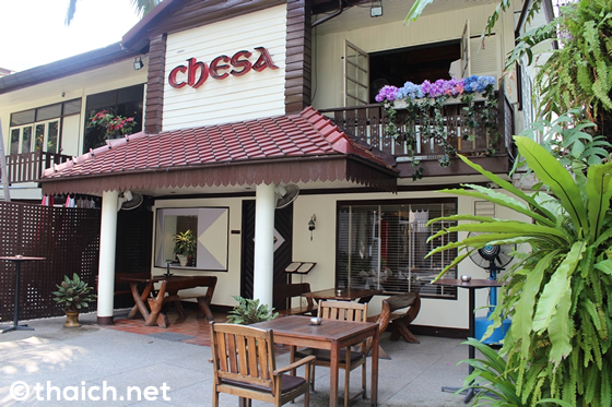 CHESA~バンコクで唯一のスイス料理店