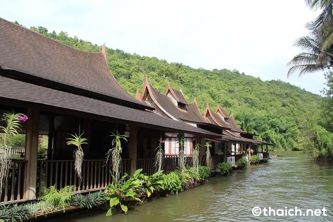 カンチャナブリ郊外に超穴場のGOODリゾートホテル発見!~リバー・クワイ・ビレッジ(River Kwai Village)