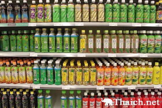 タイの緑茶飲料