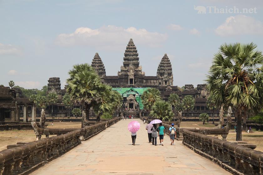 タイ米のパッケージにアンコールワットを描いたタイの業者、カンボジア政府が警告
