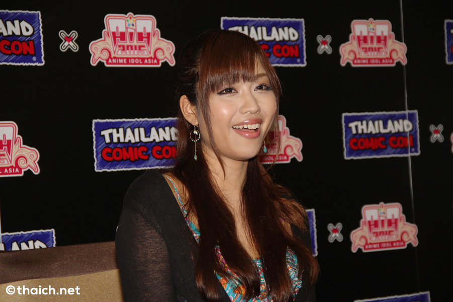 結城アイラ インタビュー in バンコク[THAILAND COMIC CON x ANIME IDOL ASIA 2015]