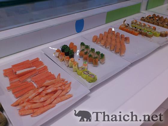 セントラルプラザ・ウドンタニの日本料理店ラインアップ