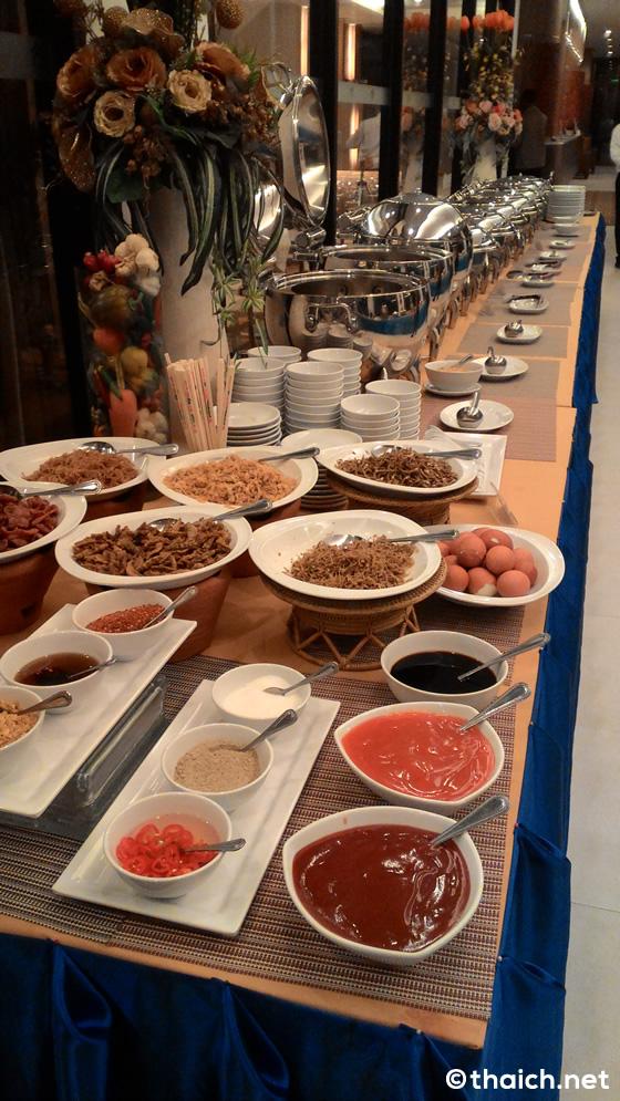 ザ・パナライホテル(The Pannarai Hotel)の朝食ビュッフェ【ウドンタニ】