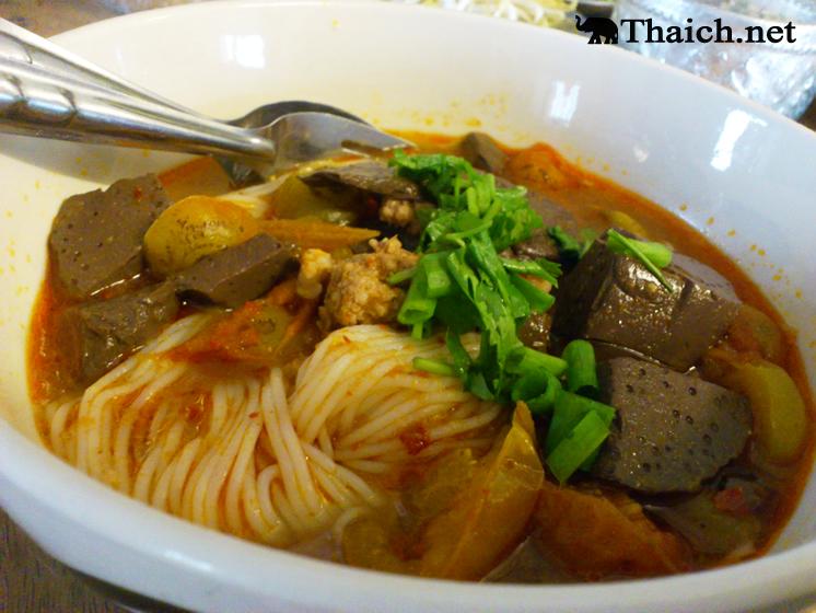 タイのカノムチンと日本の素麺は同じものですか?