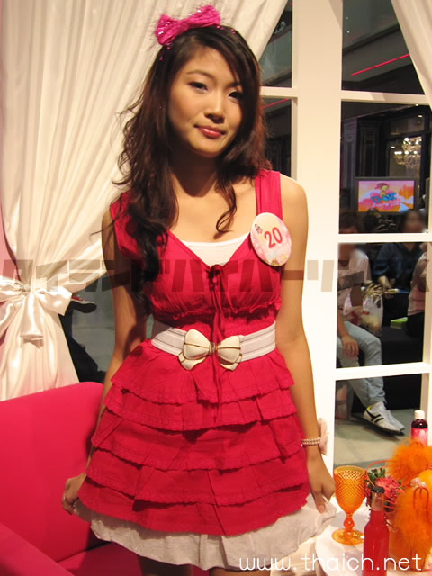 タイのかわいい女の子