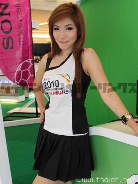 Sony 2010 FIFA WORLD CUP CARAVAN イベントガール