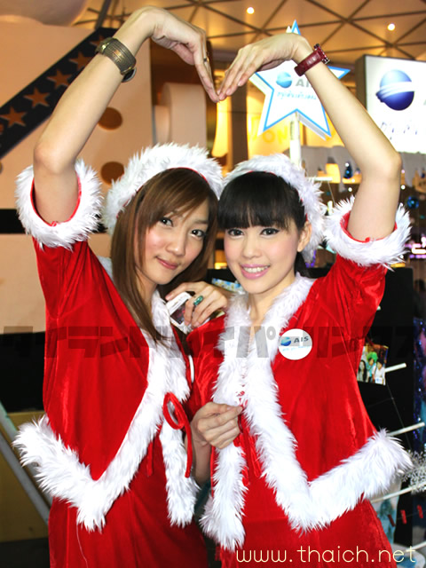 AIS クリスマスイベントガール