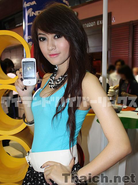 タイランドモバイルエキスポ2010 イベントガール 1