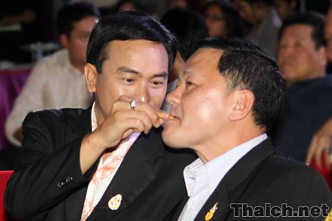 アピシット首相とタクシン元首相がまさかの和解?