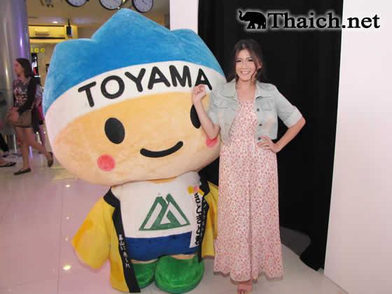 富山PRイベントに、女優フォーカスさんが参加