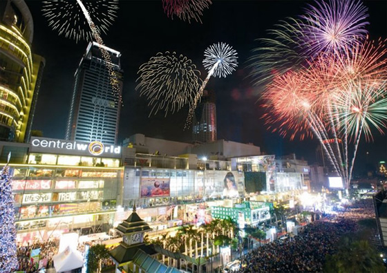AIS Bangkok Countdown 2013 @ CentralWorld : Big Hug Big Fun