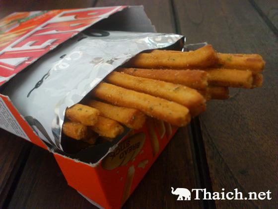 タイ土産の新定番 プリッツのトムヤムクン味