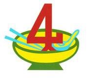 4が目印!「チャイシーバミーキアオ」は雲呑麺の美味しいフランチャイズ屋台