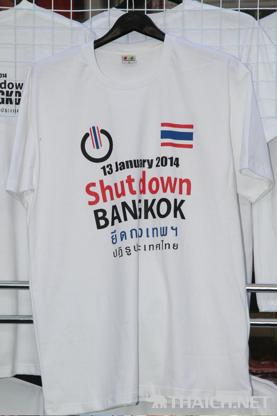 バンコクシャットダウンTシャツ コレクション