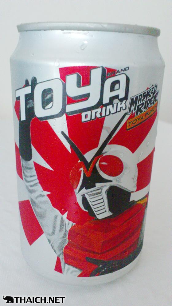 タイのTOYa Drinkの仮面ライダー缶がかっこ良すぎる!