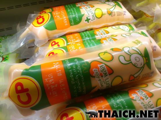 タイの豆腐はチューブ入り。今では豚の血もチューブ入り。