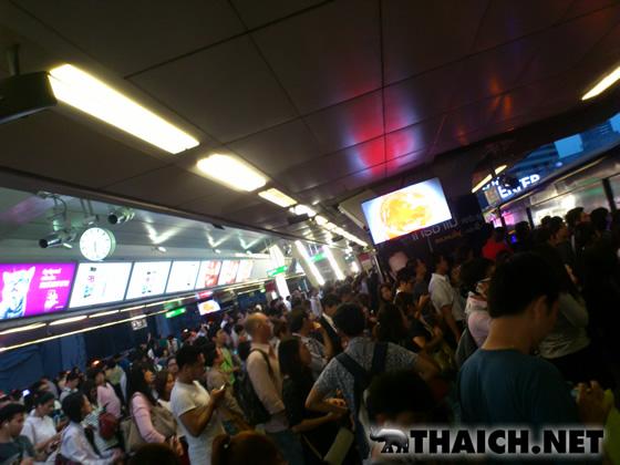 タイの満員電車は満員ではない!