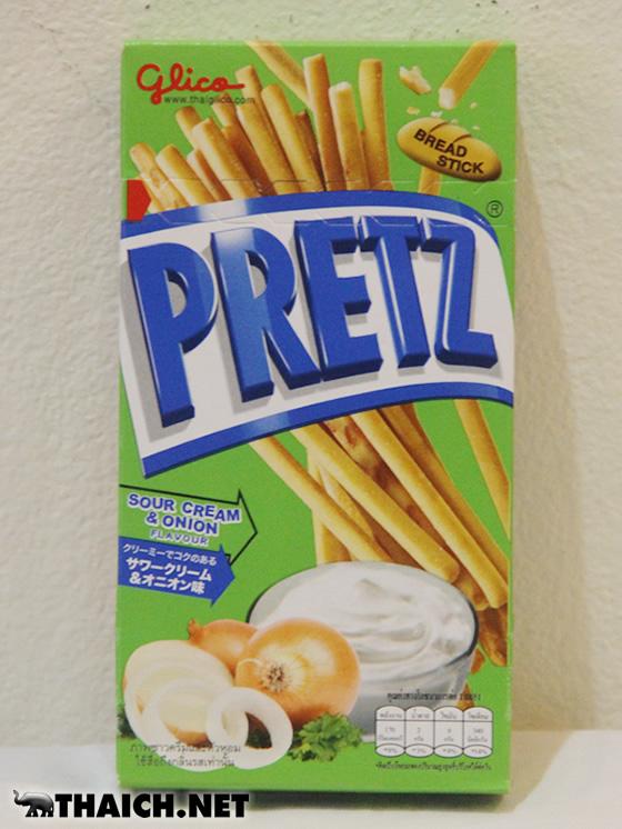タイ限定プリッツはサワークリーム&オニオン味だって旨い!