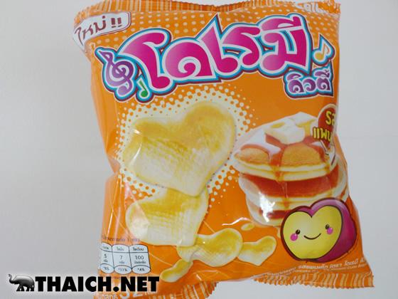 日本にはないタイのカルビーのドレミキューティー ホットケーキ味が旨い!