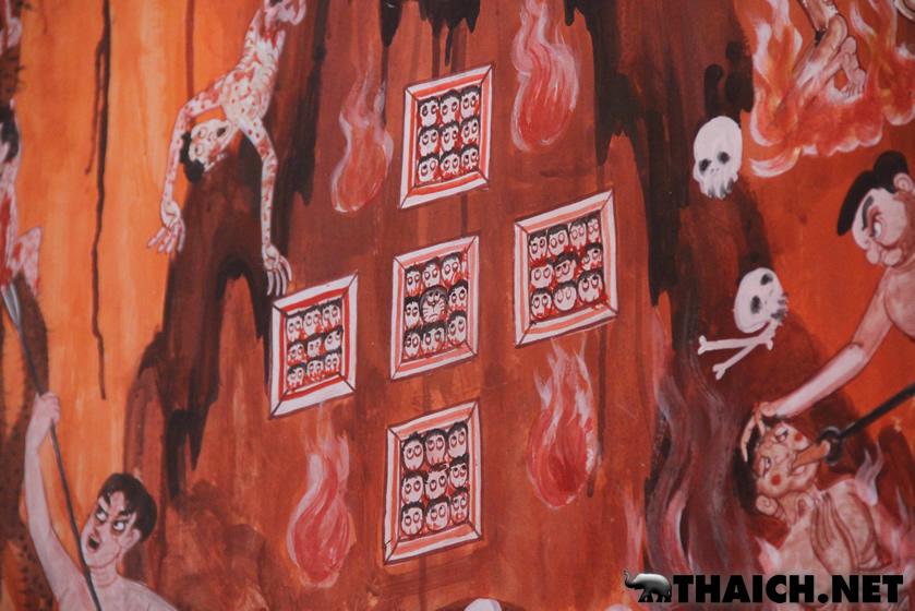 ドラえもん寺ワット・サンパシウの壁画のドラえもん全公開! [スパンブリー県]
