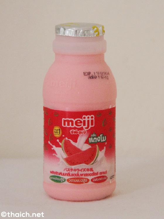 スイカ牛乳にパパイヤ牛乳・・・タイのフルーツ牛乳が楽しい!