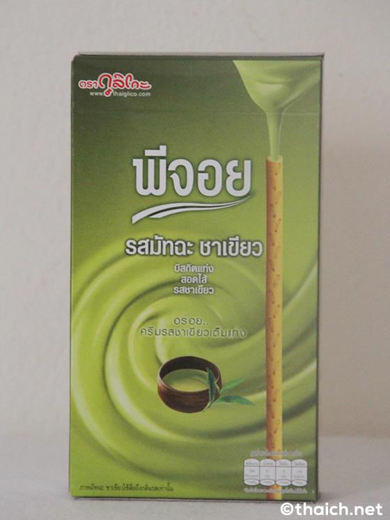 タイのグリコ・ピージョーイ(Pejooy)にも抹茶味が登場が登場