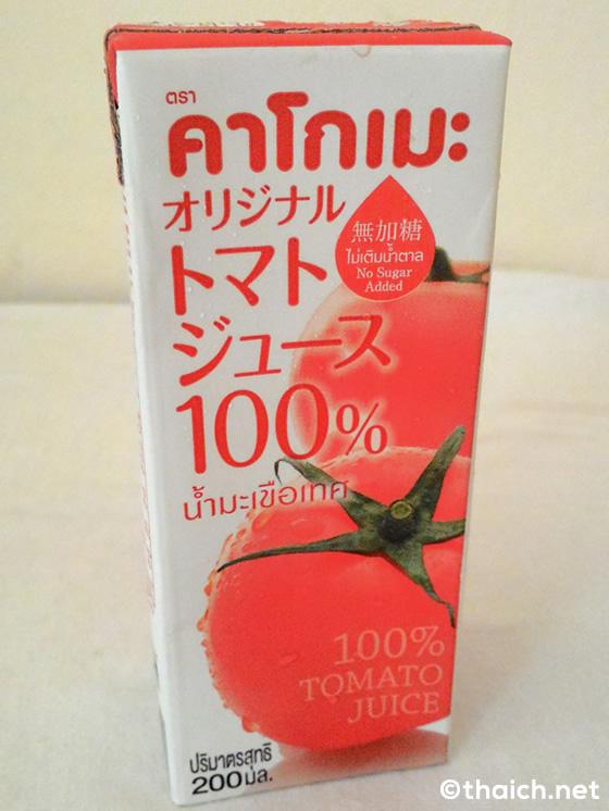 日本からタイに直送!カゴメのトマトジュース100バーセント