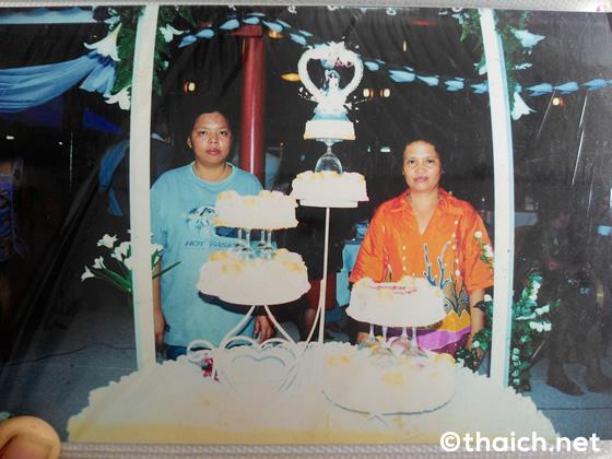 パンガン島でのパーティーケーキの注文はシーおばさんへ