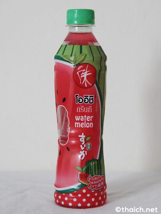 OISHIの「すいか緑茶」発見!もはやなんでも緑茶になる時代(笑)