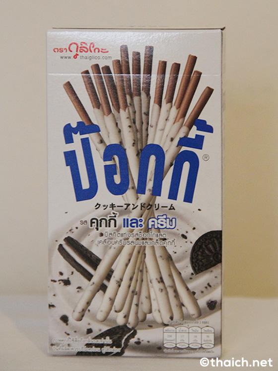 タイのポッキー「クッキーアンドクリーム味」は期待通りの美味しさ