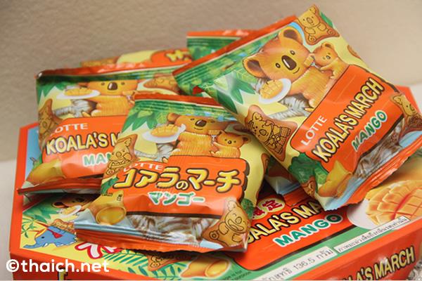 タイ限定!「コアラのマーチ」の「マンゴー」はお土産に最適