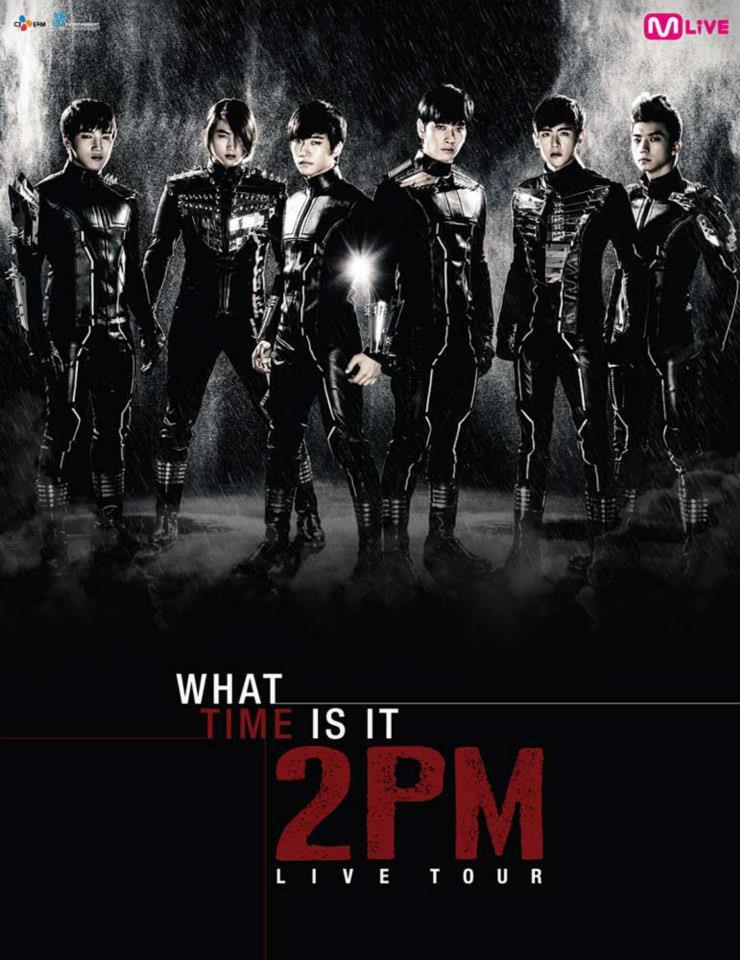 韓流アイドル2PMのタイ・バンコク公演がインパクトアリーナで2013年4月8日開催