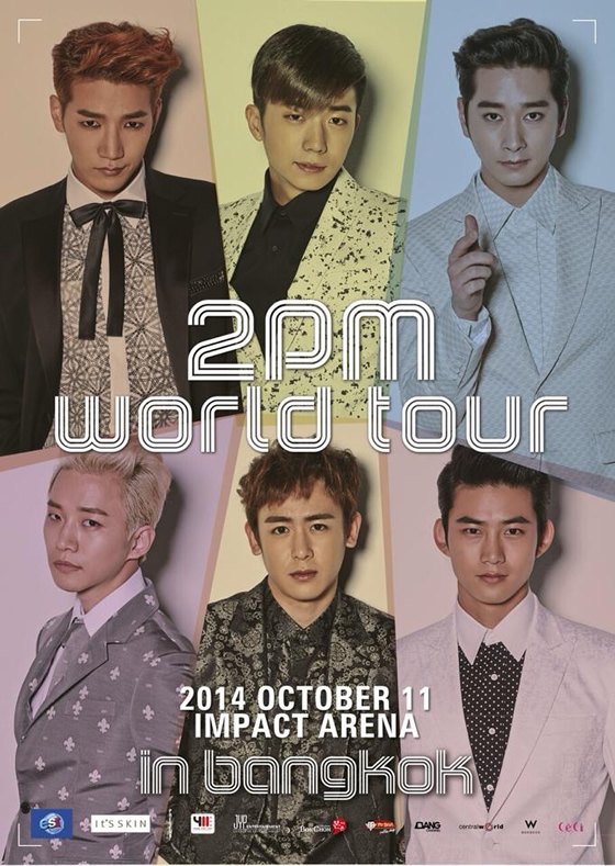 2014 2PM WORLD TOUR IN BANGKOK