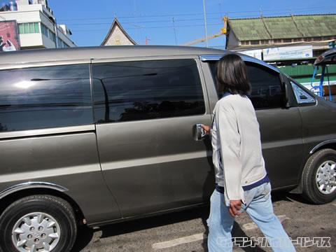 ビエンチャンの乗合タクシー