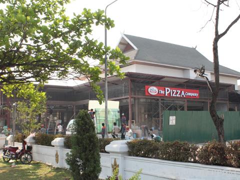 The PIzza Caompany & Swensen's