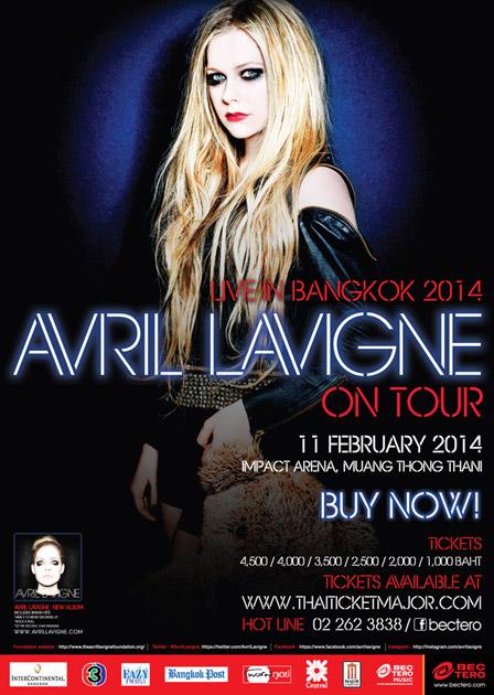 AVRIL LAVIGNE Live in Bangkok 2014
