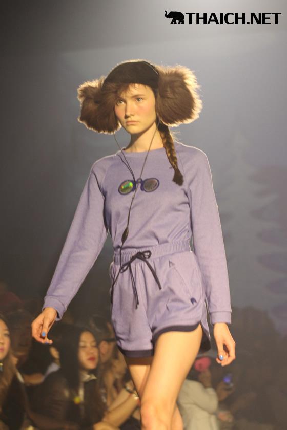SOMETHINGBOUDOIR ファッションショー [ELLE Fashion Week 2013 Autumn/Winter at CentralWorld]