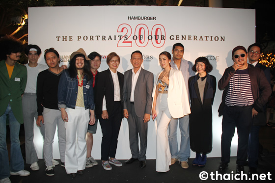 HAMBURGER MAGAZINEが創刊200号でポートレイトを展示販売