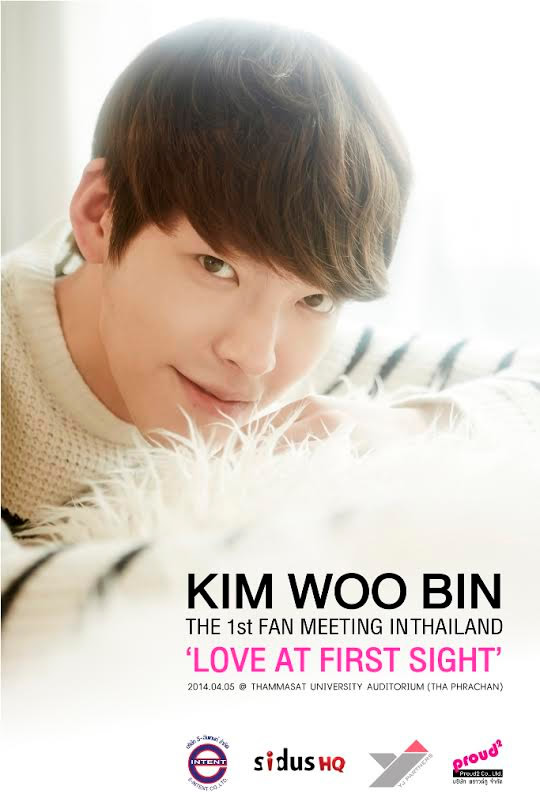 2014 KIM WOOBIN THE FIRST FAN MEETING IN THAILAND 'LOVE AT FIRST SIGHT