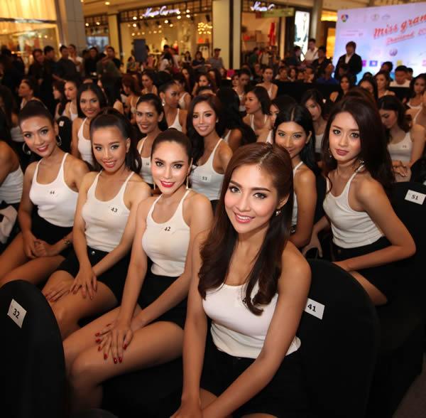 50人の美女達が「ミス・グランド・タイランド2015」最終選考へ