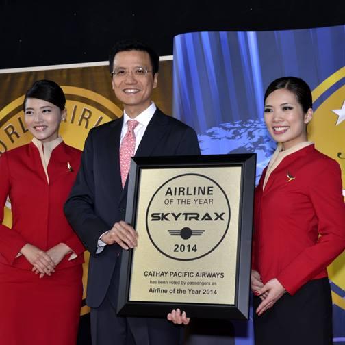 タイ航空が客室乗務員部門で9位!「ワールド・エアライン・アワーズ2014」