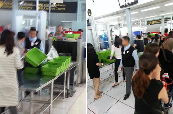 スワンナプーム空港のX線検査で盗難事件発生!犯人は空港職員か!?
