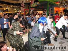 KAZUMIインタビューバンコクのアニメフェスティバルでミニライブ披露