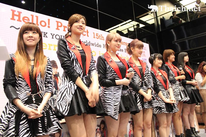 Berryz工房がバンコク公演前日に握手会開催!新曲「アジアンセレブレイション」が日本に先駆け発売開始