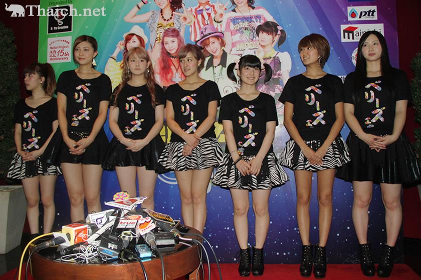 Berryz工房が3年ぶり2度目のタイ・バンコク単独公演でアジアのファン熱狂